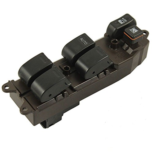 (Eynpire 9025 Power Master Window Control Switch Front Left Driver Side For 2003-2008 Pontiac Vibe)