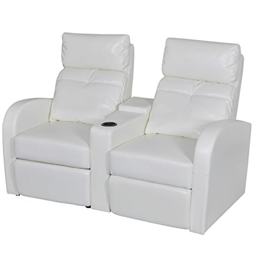 ial Leather Reclining Sectional Sofa Set Home Cinema Furniture Recliner Couch With Adjustable Backrest And Footrest 59.4