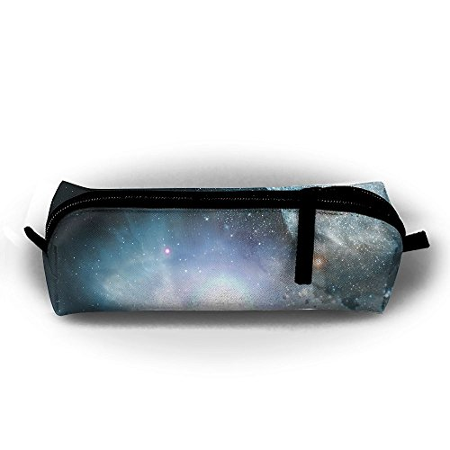 Rfhbjthir Space Unisex Pen Bag Zipper Cosmetic Bags Cylindrical ()