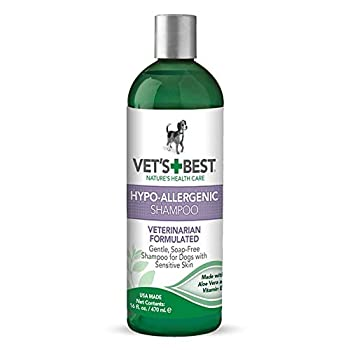 Vet's Best Hypo-Allergenic Shampoo for Dogs | Dog Shampoo for Sensitive Skin