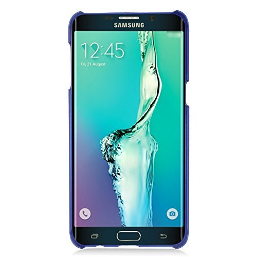 Galaxy S6 Edge Plus Case, Eagle Cell Rubberized Hard Snap-in Case Cover for Samsung Galaxy S6 Edge Plus, Blue