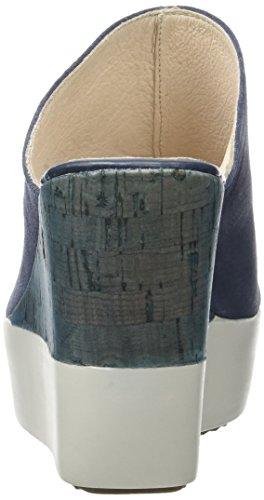 Stonefly Saint Tropez 12, Sandalias con Cuña para Mujer Azul (Denim 124)