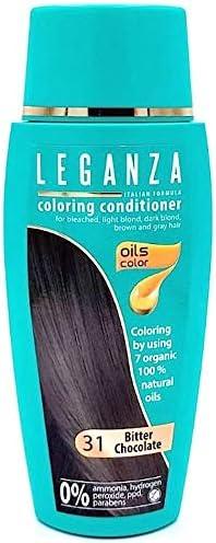 Pack Ahorro de 2 x Tintes Bálsamo para cabello sin ammoniaque color chocolate oscuro 31, 7 aceites naturales