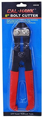8-inch Bolt Cutters Compact Light Duty (Cal-Hawk) by Cal-Hawk (Duty Bolt)