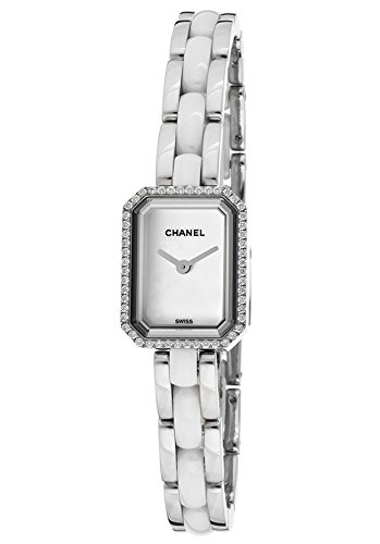 Premier White Dial (Chanel Women's Premier Diamond White Dial Stainless Steel and White Ceramic)