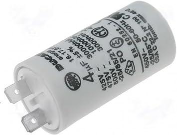 Kondensator 40uF 450VAC  Motorkondensator Anlaufkondensator