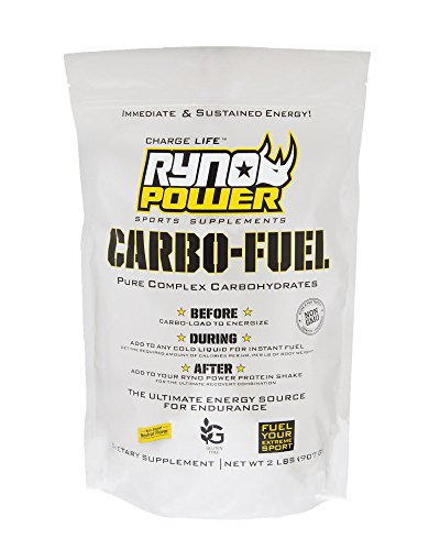 Ryno Power Carbo-Fuel, Neutral Flavor, 2 Pounds