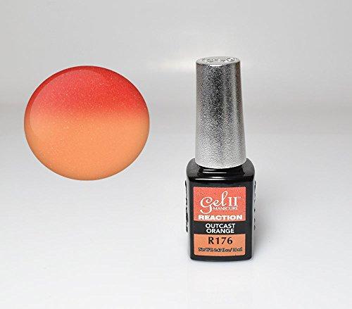 GEL II Reaction Color Changing Nail Mood Polish 0.47 oz - Ou