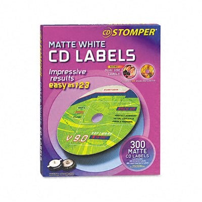 AVE98122 - Avery Labels for CD Stomper Pro CD/DVD Labeling System