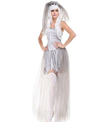 Papaya Wear Women Halloween Costume Ghost Spirit Costume (Spirit Wear Halloween Costumes)