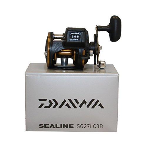 Daiwa Sealine SG-3B 4.2:1 Line Counter Right Hand Reel w/ Counter Balanced Handle - SG27LC3B