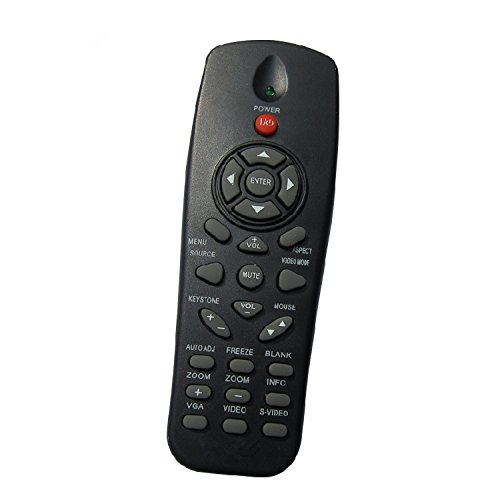 Rlsales Replacement Remote Control Fit for Dell Projector 1220 1450 1850 4320 4350 M115HD M900HD ()