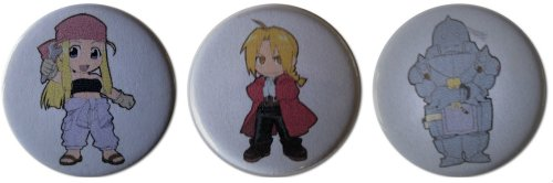 Fullmetal Alchemist Brotherhood Greed Costumes - Fullmetal Alchemist Characters 1.25 Inch Magnet
