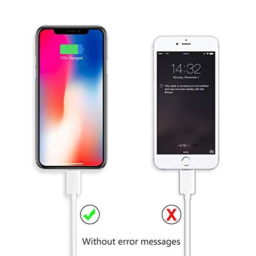 iPhone Charger, Everdigi Lightning Cable 3Pack 10FT iPhone Charger Cable- Compatible with iPhone Xs Max XR X 8 8 Plus, iPhone 7 7 Plus 6 6s 6 Plus 6s ...