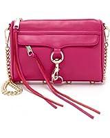 Rebecca Minkoff Metallic Mini MAC Convertible Cross-Body Handbag