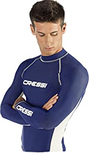 Cressi Mens Long Sleeve Rash Guard, Adult Rash Guard for Swimming, Surfing, Diving - Cressi: Quality Since 194