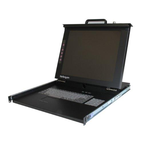 Startech 1U 17 - Inch Rackmount LCD Console - USB + PS/2 ...