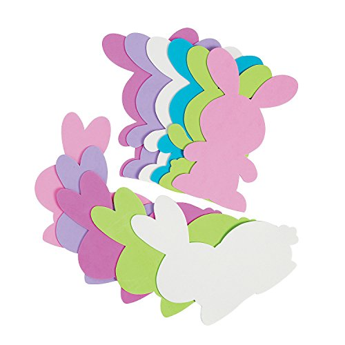Jumbo Foam Bunny Shapes