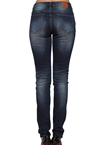Alice & Elmer Stretch Taille Haute Skinny,Jeans Femme Blue-61002