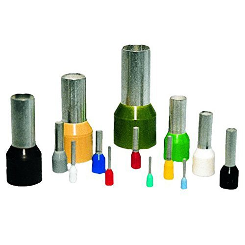 Eclipse Tools 701-041 AWG 6 Wire Ferrule 12 mm Barrel Green (Pack of 100) [並行輸入品] B075Q7JVZN