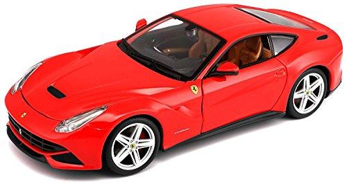 Bburago 1:24 Scale Ferrari Race and Play F12 Berlinetta Diecast Vehicle (Colors May Vary) -