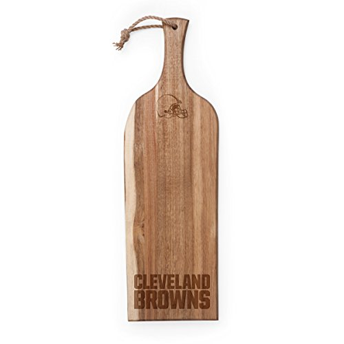 PICNIC TIME NFL Cleveland Browns Artisan Acacia Wood Serving Plank, 24-Inch