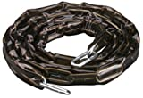 Master Lock 74D Hardened Steel Chain with Smoke Gray Sleeve, 6-Foot