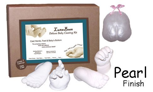 Luna Bean Deluxe Baby Casting Kit Casting Keepsakes 1981-P
