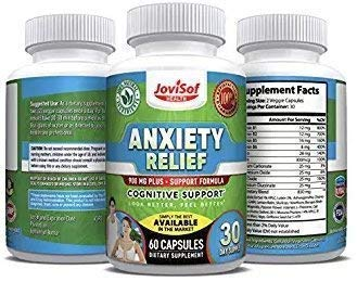 JOVISOF® Latest Advanced Formula! Best Mood Booster Supplements for Stress and Anxiety Relief   Serotonin Booster, Soothing Stress Support, Keep Calm and Replace Anti-Depressants Naturally.