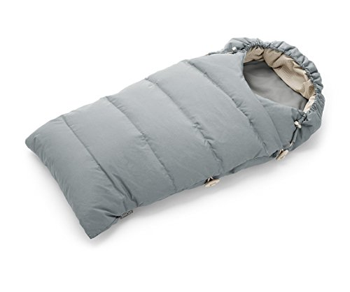 Stokke Down Sleeping Bag, Cloud Grey by Stokke