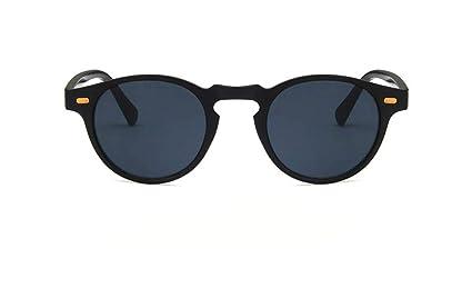 TINERS Retro Pequeñas Gafas de Sol Redondas Moda Arroz Stud ...