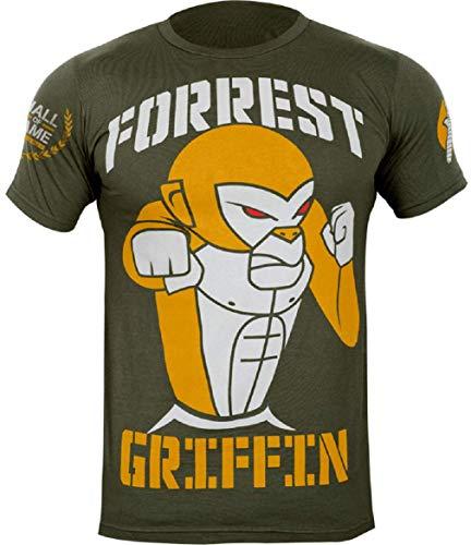 Hayabusa Forrest Griffin Hall of Fame T-Shirt, Green, XX-Large (Hayabusa T Shirt)