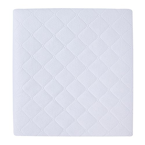 Carter's 2 Piece Protector Pad, Solid White, One Size