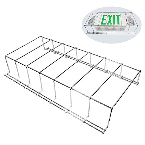 eTopLighting Wire Guard for Emergency Exit Sign Light 20 x 11.5 x 3.5 Inch Dimension, Easy & Quick Install, Safe & Secure Emergency Light, (Exit & Emergency Light NOT Included), AGG2246