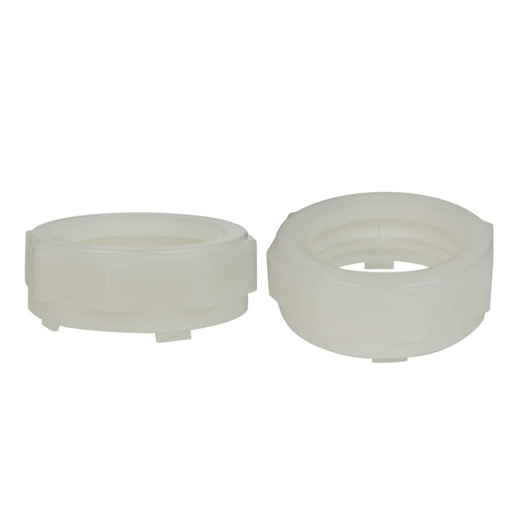 76mm Nalgene True Union All Plastic Clamps