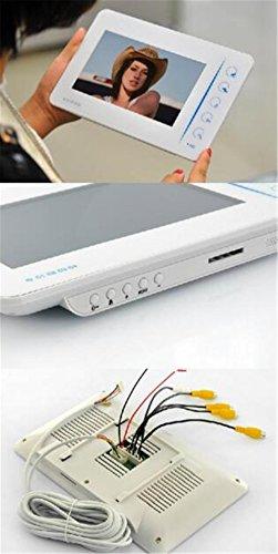 doolst-video-doorbell-waterproof-wired-digital-hd-video-doorbell-low-power-consumption-home-touch-high-definition-video-door-phone-doorbell-2-pcs-7-inch-display
