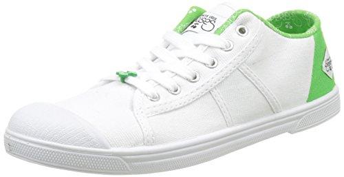 Le Temps des Cerises Basic 02 Slide - Botas Mujer Blanc (Slide Green)