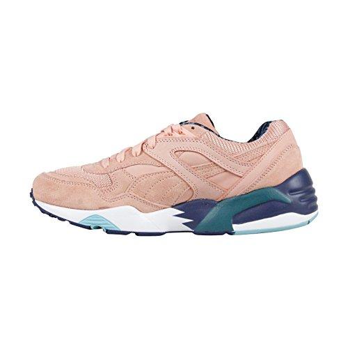 Puma Select Mens R698 X Alife Sneakers, Perzik Bud / Lyons Blauw, 7.5 D (m) Ons