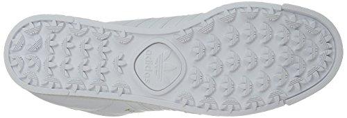 adidas Originals Herren Samoa Retro Sneaker Weiß / Weiß / Gold
