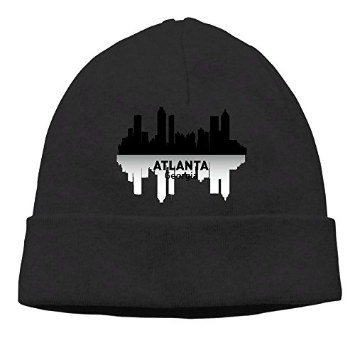 Cuffed Beanie Knit Hats Skull Cap Wool Hat Daily Slouchy Hats Atlanta Georgia Activewear Watch Cap -