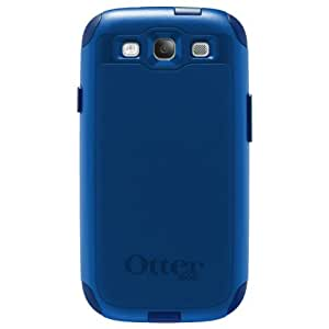 OtterBox Commuter Series Case for Samsung Galaxy S III - Retail Packaging - Blue (Discontinued by Manufacturer)
