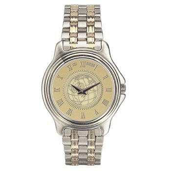 US Air Force Academy - Men's Two Tone Stainless Steel Watch - Gold