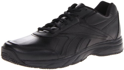 (Reebok Men's Work N Cushion Walking Shoe,Black,13 4E US)