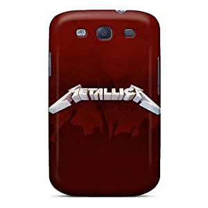 InesWeldon Samsung Galaxy S3 Best Hard Cell-phone Case Support Personal Customs HD Metallica Band Skin [ERP16481ZmFG]