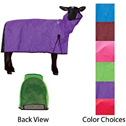 Cordura Sheep Blanket - Large (Mesh Butt) in Purple Zest