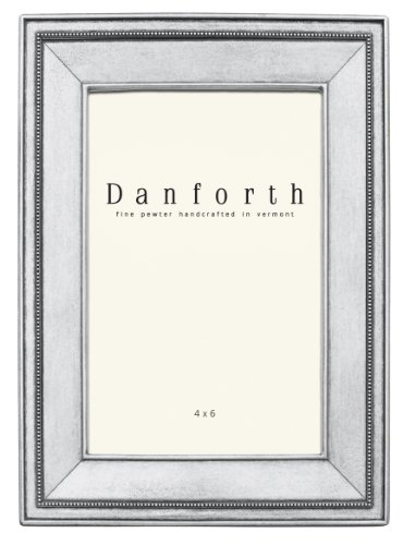 Danforth - Federal 4x6 Pewter Picture Frame (Classic) (Photo Pewter)