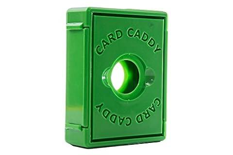Card Caddy Single Decker, Green - Double Deck Card Box