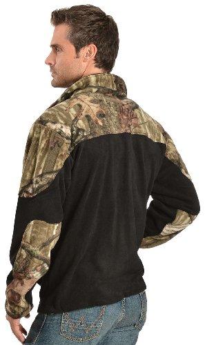 Browning Men's Camouflage Yoke Fleece Work Jacket