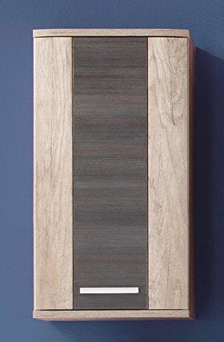 Trendteam armadietto pensile da bagno marrone braun ebay for Armadietto pensile bagno