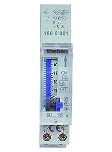 Theben SUL 180 A - Segmento de interruptor horario analógico